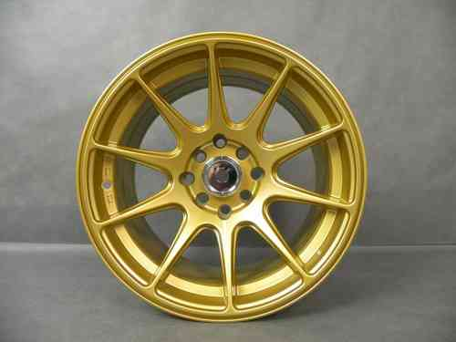 "DARE XXR 527 15"" 8,25J ET0 4x100 / 4x114,3 GOLD"