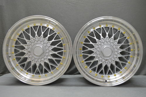 "DARE RS 18"" 8J ET38 + 9,5J ET38 5x100 5x114,3 SL GOLDEN RIVETS"