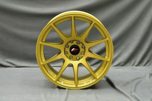 "JAPAN RACING JR11 16"" 8J ET25 4x100/4x108 Gold"