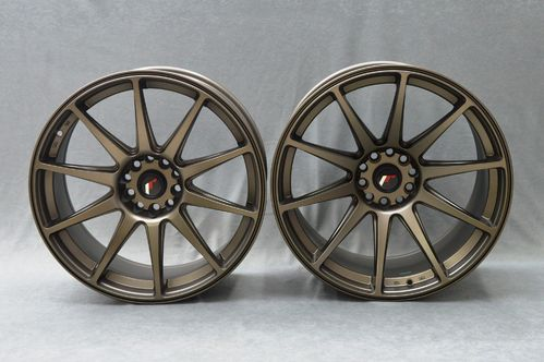 "JAPAN RACING JR11 20"" 8,5J ET20-35 + 10J ET20-40 5x108 Blank"