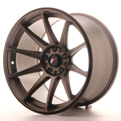 "JAPAN RACING JR11 18"" 7,5J ET35-40 + 8,5J ET35 4x100/4x114,3 Dark Bronze"