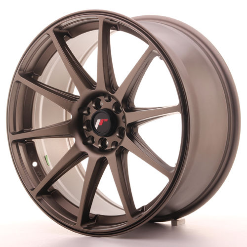 "JAPAN RACING JR11 19"" 11J ET25 5x100 Bronze"