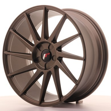 "JAPAN RACING JR22 19"" 8,5J ET35-40 + 9,5J ET35-40 Blank MBronze"
