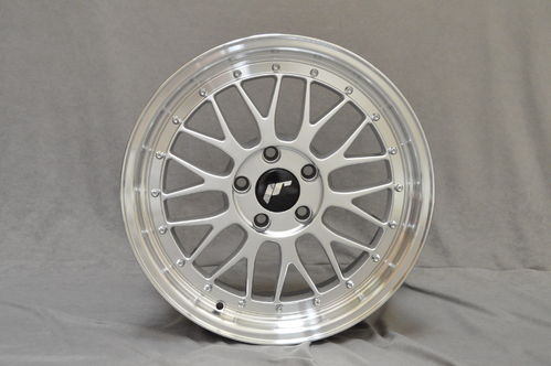 "JAPAN RACING JR23 18"" 8J ET30-45 BLANK HS"