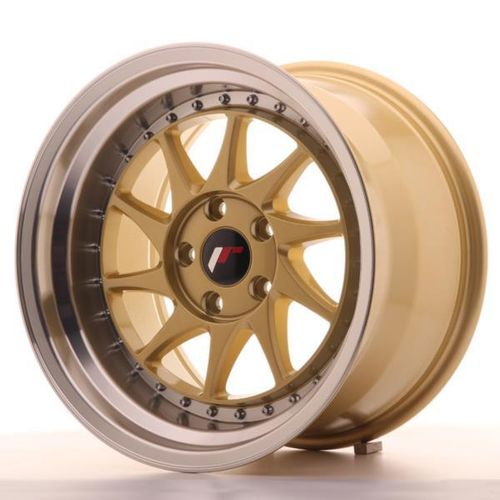 "JAPAN RACING JR26 18"" 8,5J ET20-40 + 9,5J ET20-40 4x100 BLANK Gold"