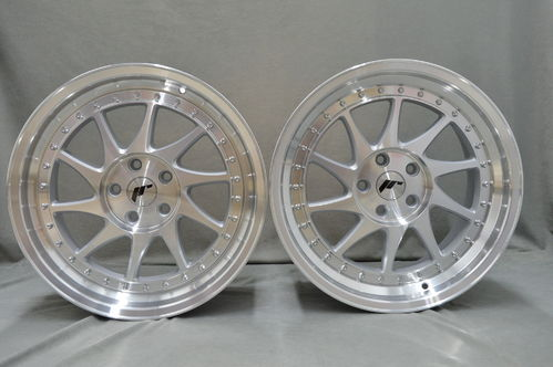 "JAPAN RACING JR26 18"" 8,5J ET20-40 + 9,5J ET20-40 4x100 BLANK MS"