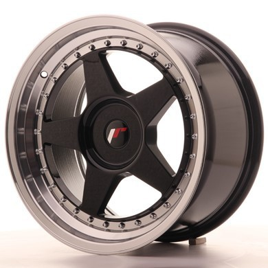 "JAPAN RACING JR6 17""8J ET20-35 + 9J ET20-35 5x110 BLANK GB"