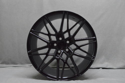 "AXE CF1 20"" 9J ET38 5x108-5x130 Gloss Black"