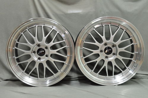 JAPAN RACING JR23 20'' 9J ET20 + 10,5J ET25 5x120-BLANK HPL