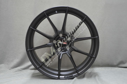 "Motec Ultralight 17"" 7J ET27 4x98 Flat Black"
