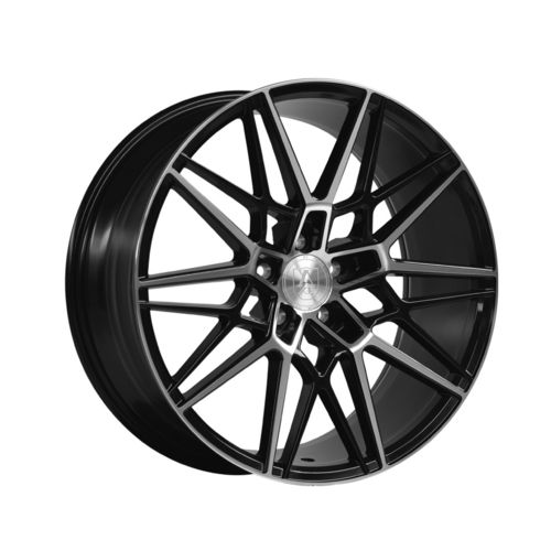 "AXE CF1 20"" 11J ET48 5x108-5x130 Black & Polished"