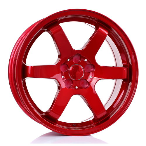"BOLA B1 17"" 7,5J ET40-45 4x98-5x115 Candy Red"