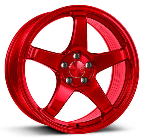 "BOLA B2R 17"" 7,5J ET40 4x98-5x120 Candy Red"