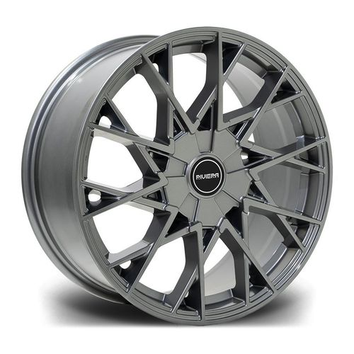 "Riviera RV197 18"" 8J ET42 BLANK 5x120 Dark Grey"