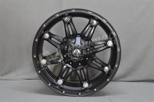 "Fuel Hostage 20"" 12J ET-44 8x165,1 Matte Black"