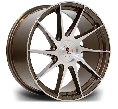 "Stuttgart SF11 18"" 8,5J ET38 BLANK Bronze Brushed"