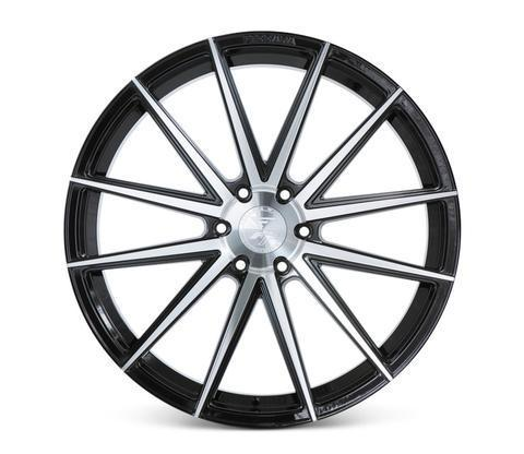 "Ferrada FT1 24"" 10J ET25/ET30 6x135 Machine Black"