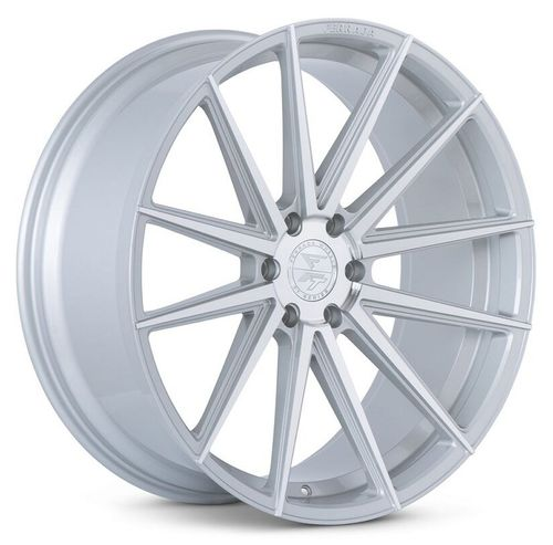 "Ferrada FT1 24"" 10J ET25/ET30 6x135 Machine Silver"