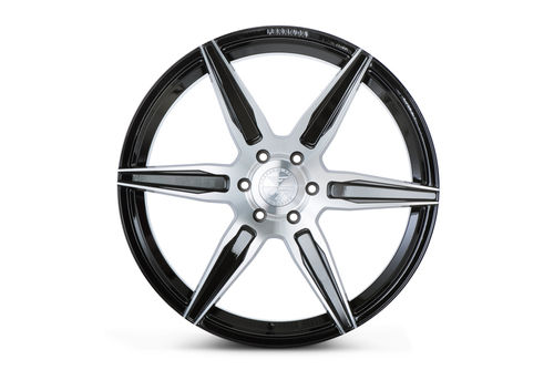 "Ferrada FT2 24"" 10J ET25/ET30 6x135 Machine Black"