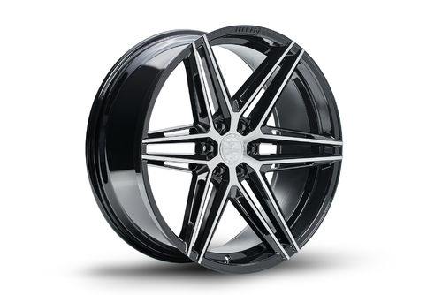 "Ferrada FT4 24"" 10J ET25 6x135/6x139,7 Machine Black"
