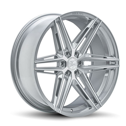 "Ferrada FT4 24"" 10J ET25 6x135/6x139,7 Machine Silver"