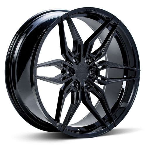 "Ferrada FT5 24"" 10J ET25 6x135/6x139,7 Machine Black"