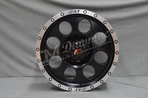"Japan Racing JRX4 16"" 9J ET0 5x127 Matt Black w/Machined Lip"