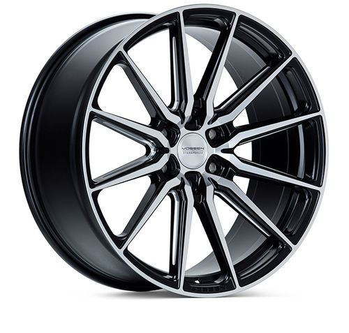 "Vossen HF6-1 24"" 10J ET25 6x135 Brushed Matte Black"
