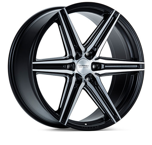 "Vossen HF6-2 24"" 10J ET25 6x135 Brushed Matte Black"