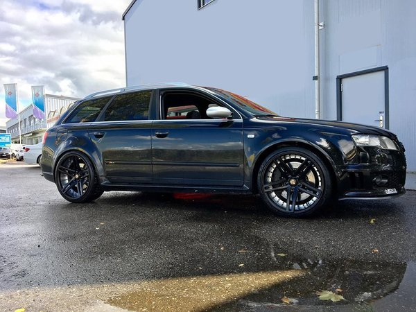 "Ex20 in Satin Black 10x20"" fitted to a Audi RS4\\n\\n26/10/2017 11:52"