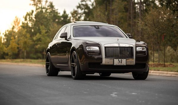 "Rolls Royce Ghost Axe Ex20 - 22"" - Custom Gloss Black\\n\\n11/11/2016 12:52"