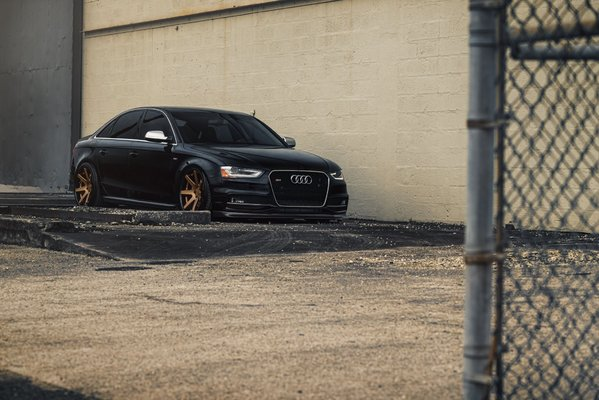 Ferrada Wheels FR1 Matte Bronze / Gloss Black Lip. Size: 20x10.5 2015 Audi S4 Bagged\\n\\n18/10/2016 12:40