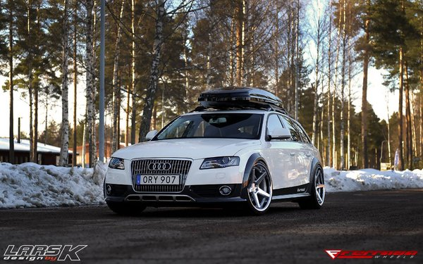 Ferrada Wheels FR3 Machine Silver / Chrome Lip. Size: 20x10.5 2013 Audi A4 All-Road\\n\\n18/10/2016 11:56