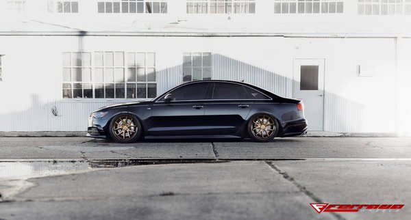 FR2 Matte Bronze/Polished Black Lip Size: 20x9 and 20x10.5 2016 Audi A6\\n\\n28/02/2017 09:17
