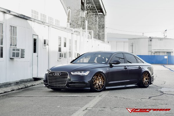 FR2 Matte Bronze/Polished Black Lip Size: 20x9 and 20x10.5 2016 Audi A6\\n\\n28/02/2017 09:18