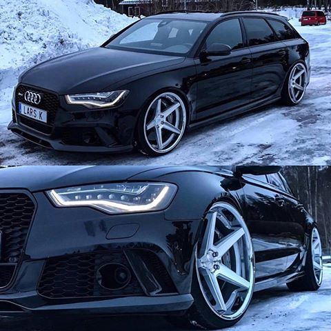 FR3 Machine Silver / Chrome Lip. AUDI a6\\n\\n28/02/2017 09:28