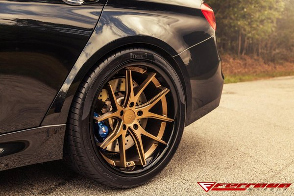 Ferrada FR2 Matte Bronze / Gloss Black Lip. Size :- 20x9 & 20x10.5 on 2015 BMW M3\\n\\n18/10/2016 13:14