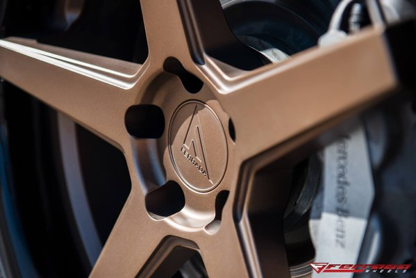 Ferrada Wheels FR3 Matte Bronze / Gloss Black Lip. 2016 Mercedes CLS550\\n\\n18/10/2016 11:52