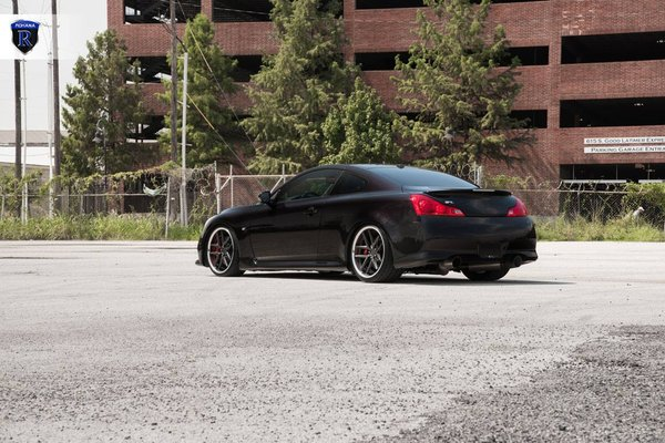 Infinity G37 Rohana RC9 Gloss Graphite with Stainless Steel Lip 20x9 l 20x11\\n\\n18/10/2016 11:44