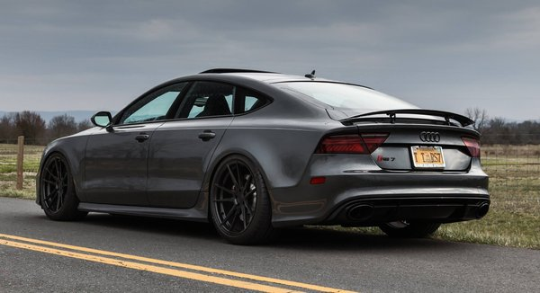 Carleton's Audi RS7 on Rohana Rotary Forged Light Weight series RF2 Matte Black\\n\\n17/05/2017 11:32