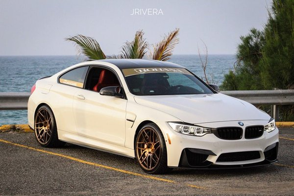BMW M4 repping Rotary Forged Brushed Bronze RFX7 20x10 l 20x11 Done by DRV Photo: Jan Rivera\\n\\n22/06/2018 10:12