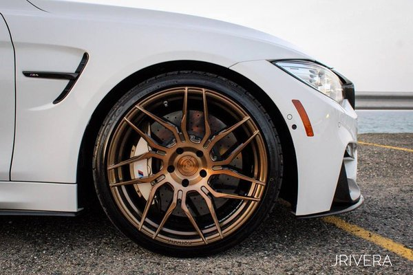 BMW M4 repping Rotary Forged Brushed Bronze RFX7 20x10 l 20x11 Done by DRV Photo: Jan Rivera\\n\\n22/06/2018 10:13