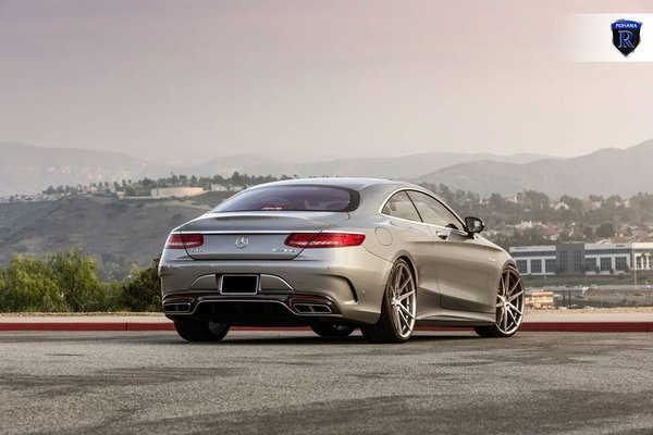 Mercedes Benz S65 AMG Coupe rolling on Brushed Titanium RF2's.\\n\\n16/07/2018 12:19